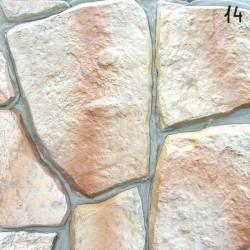 Kamień naturalny łupek, kolor: Tęczowy brzeg