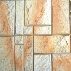 Kamień mozaikowy w kolorze słoneczny brzeg.