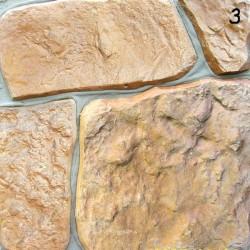 Kamień naturalny żółto-brązowy